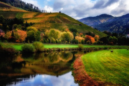 Germany in Autumn Jigsaw Puzzle