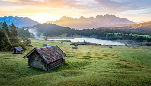 Geroldsee Lake Jigsaw Puzzle