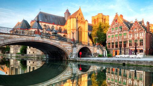 Ghent Bridge Jigsaw Puzzle