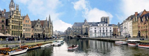 Ghent Harbor Jigsaw Puzzle