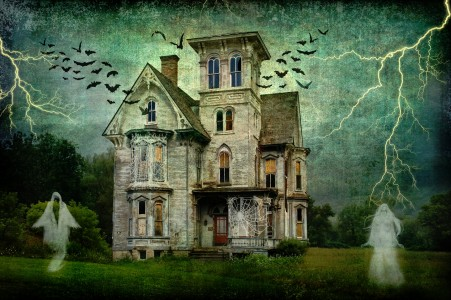Ghost House Jigsaw Puzzle