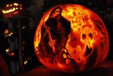 Ghoulish Jack-o-Lantern