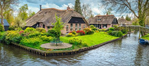 Giethoorn House Jigsaw Puzzle