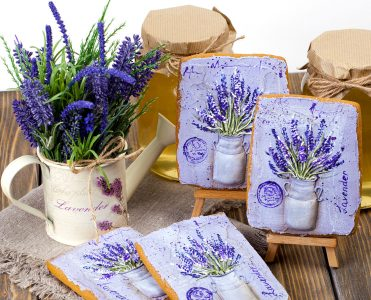Gingerbread and Lavender Jigsaw Puzzle