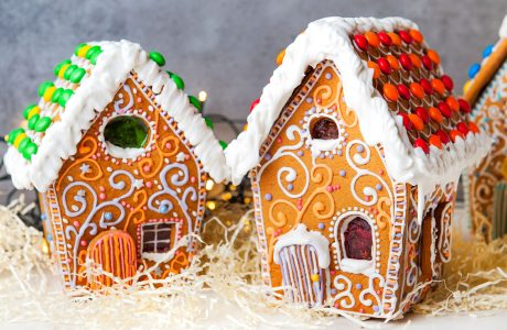 Gingerbread Houses Jigsaw Puzzle