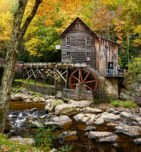 Glade Creek Mill Jigsaw Puzzle