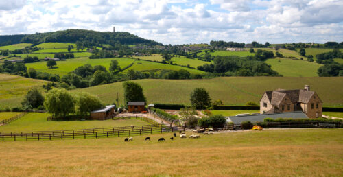 Gloucestershire Countryside Jigsaw Puzzle