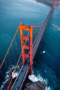 Golden Gate Aerial Jigsaw Puzzle