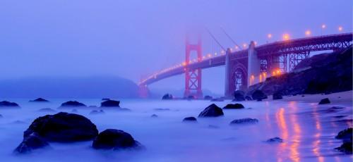 Golden Gate Fog Jigsaw Puzzle