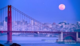 Golden Gate Moonrise