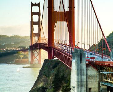 Golden Gate Traffic Jigsaw Puzzle