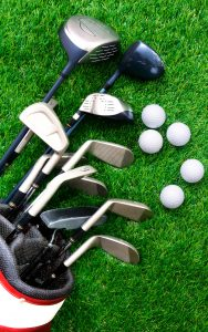 Golf Clubs Jigsaw Puzzle