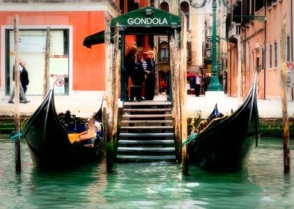 Gondola Dock Jigsaw Puzzle