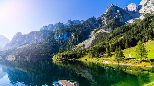Gosausee Lake Jigsaw Puzzle