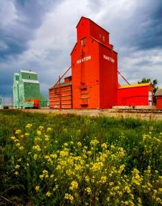 Grain Elevators Jigsaw Puzzle