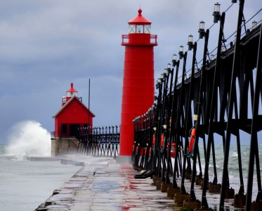 Grand Haven Lighthouse Jigsaw Puzzle