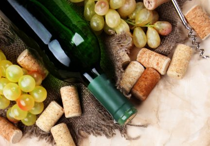 Grapes and Wine Jigsaw Puzzle