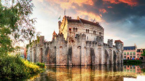Gravensteen Castle Jigsaw Puzzle