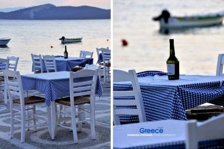 Greek Cafe Jigsaw Puzzle