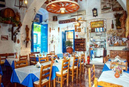 Greek Restaurant Jigsaw Puzzle