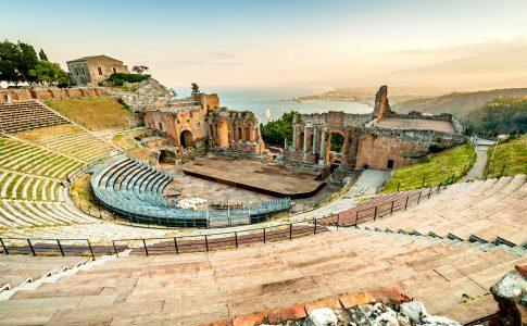 Greek Theater Jigsaw Puzzle