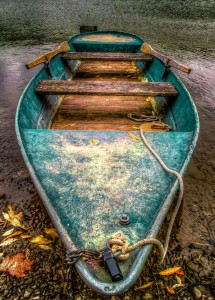 Green Boat Jigsaw Puzzle