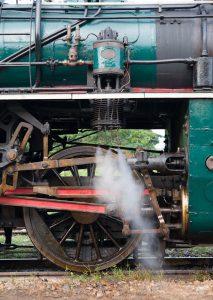 Green Locomotive Jigsaw Puzzle
