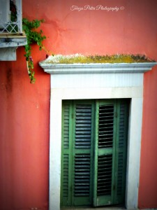 Green Shutters Jigsaw Puzzle