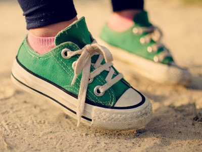 Green Sneakers Jigsaw Puzzle