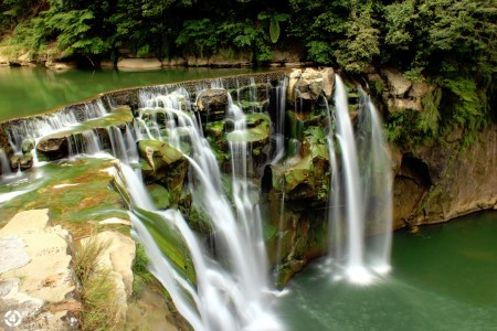 Green Waterfall Jigsaw Puzzle
