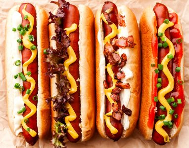 Grilled Hot Dogs Jigsaw Puzzle