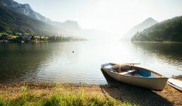 Grundlsee Lake