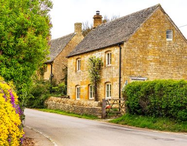 Guiting Power Cottage Jigsaw Puzzle