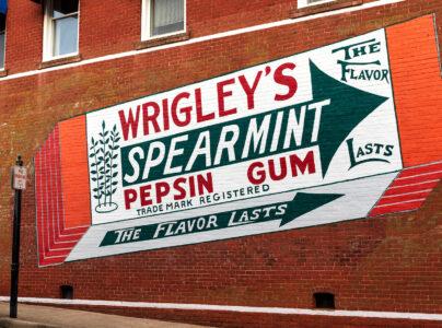Gum Ad Mural Jigsaw Puzzle