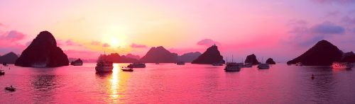 Ha Long Bay Sunset Jigsaw Puzzle
