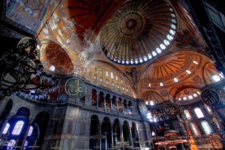 Hagia Sophia Ceilings Jigsaw Puzzle