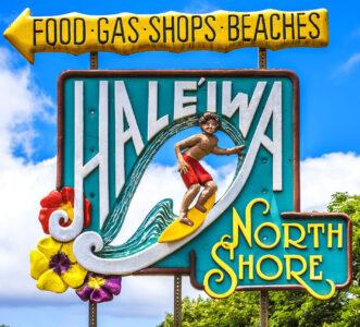 Haleiwa Sign Jigsaw Puzzle