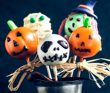 Halloween Cake Pops Jigsaw Puzzle