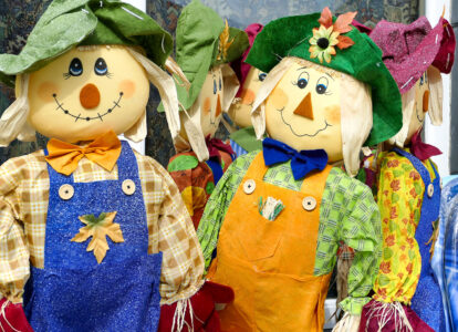Happy Scarecrows Jigsaw Puzzle