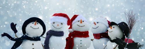 Happy Snowmen Jigsaw Puzzle