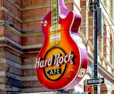 Hard Rock Cafe Jigsaw Puzzle