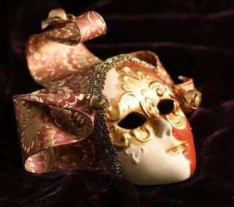Harlequin Mask Jigsaw Puzzle