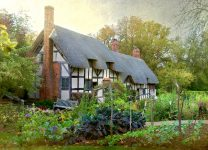 Hathaway Cottage Jigsaw Puzzle