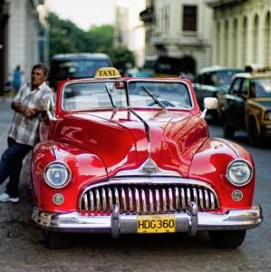 Havana Taxi Jigsaw Puzzle