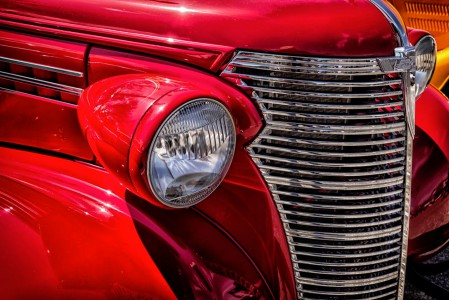 Headlamp and Grille Jigsaw Puzzle