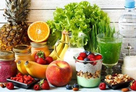 Healthy Foods Jigsaw Puzzle