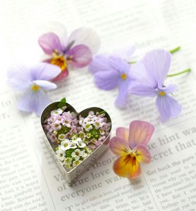 Heart and Flowers Jigsaw Puzzle