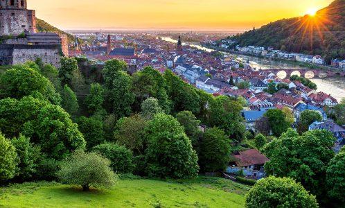Heidelberg Overlook Jigsaw Puzzle