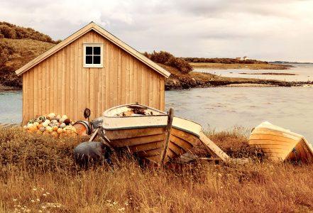 Helgeland Boathouse Jigsaw Puzzle