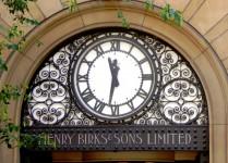 Henry Birks Clock